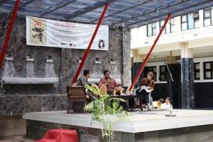 """Peluncuran buku """"Mari Mengenal HKI"""" di kampus FH Unpad, Bandung"""